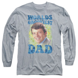 Image for The Brady Bunch Long Sleeve T-Shirt - World's Grooviest