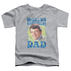 Image for The Brady Bunch Toddler T-Shirt - World's Grooviest