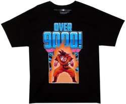Image for Dragon Ball Z T-Shirt - Over 9000!