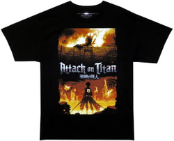 Image for Attack on Titan T-Shirt - Colossal Titan