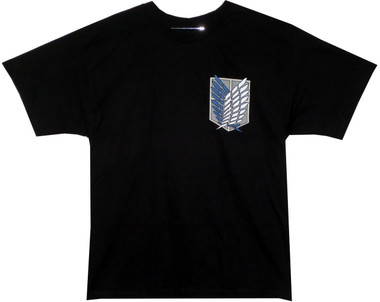 Image for Attack on Titan T-Shirt - Survey Group