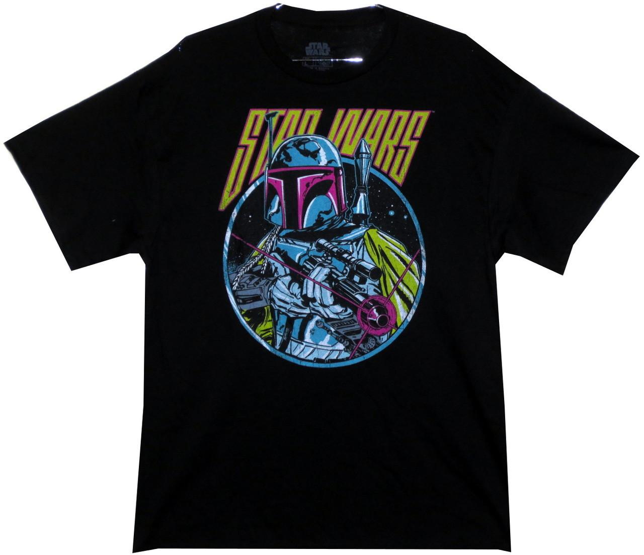 6177d63b7f55cd Star Wars T-Shirt - Retro 80s Boba Fett. Loading zoom