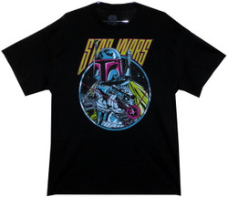 Image for Star Wars T-Shirt - Retro 80s Boba Fett