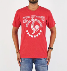 Image for Sriracha Bottle Lable T-Shirt