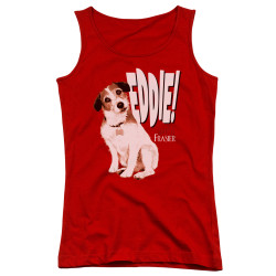 Image for Frasier Girls Tank Top - Eddie
