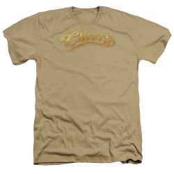 Image for Cheers Heather T-Shirt - Distressed