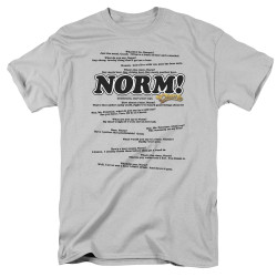 Image for Cheers T-Shirt - Normisms