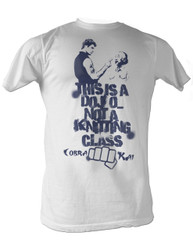 Image for Karate Kid T Shirt - This a Dojo Not a Knitting Class