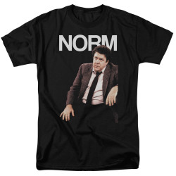 Image for Cheers T-Shirt - Norm Peterson