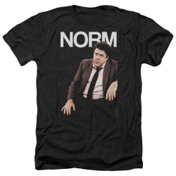 Image for Cheers Heather T-Shirt - Norm Peterson