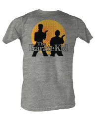 Image for Karate Kid T Shirt - Silhouettes