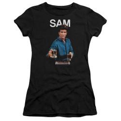 Image for Cheers Girls T-Shirt - Sam Malone