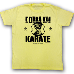 Image for Karate Kid T Shirt - New Cobra Kai Logo