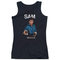 Image for Cheers Girls Tank Top - Sam Malone