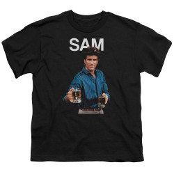 Image for Cheers Youth T-Shirt - Sam Malone