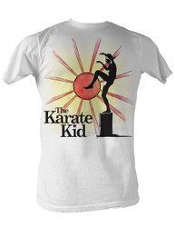 Image for Karate Kid T Shirt - Ninja Sun