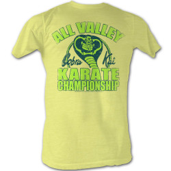 Image for Karate Kid T Shirt - All Valley Karate Championship
