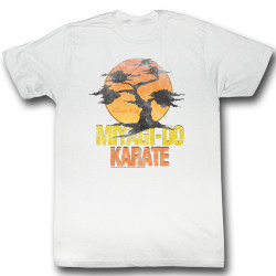 Image for Karate Kid T Shirt - Miyagi Do Logo
