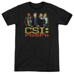 Image for CSI Miami Ringer - The Cast in Black
