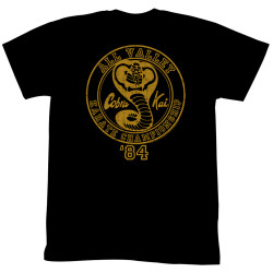 Image for Karate Kid T Shirt - Cobra Kai in '84
