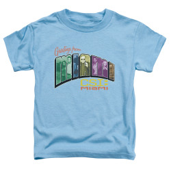 Image for CSI Miami Toddler T-Shirt - Greetings from Miami
