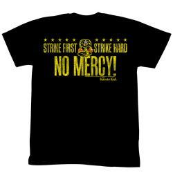 Image for Karate Kid T Shirt - No Mercy Slogan