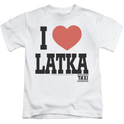 Image for Taxi Kids T-Shirt - I Heart Latka
