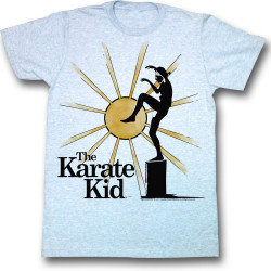 Image for Karate Kid T Shirt - Rising Sun Crane