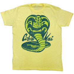 Image for Karate Kid T Shirt - Pretty Cobra Kai