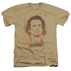Image for Taxi Heather T-Shirt - Blame in on the Brownies