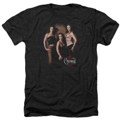 Image for Charmed Heather T-Shirt - Three Hot Witches