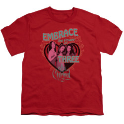 Image for Charmed Youth T-Shirt - Embrace the Power