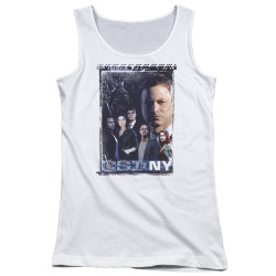 Image for CSI NY Girls Tank Top - Watchful Eye