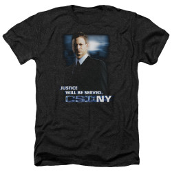 Image for CSI Heather T-Shirt - Justice Served