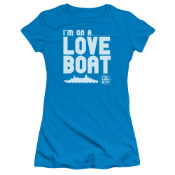 Image for The Love Boat Girls T-Shirt - I'm On a Boat