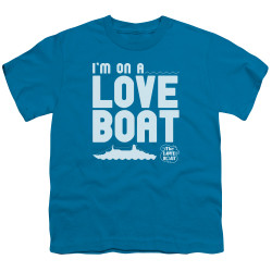 Image for The Love Boat Youth T-Shirt - I'm On a Boat