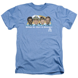 Image for The Love Boat Heather T-Shirt - Wave or Romance