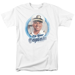 Image for The Love Boat T-Shirt - I'm Your Captain