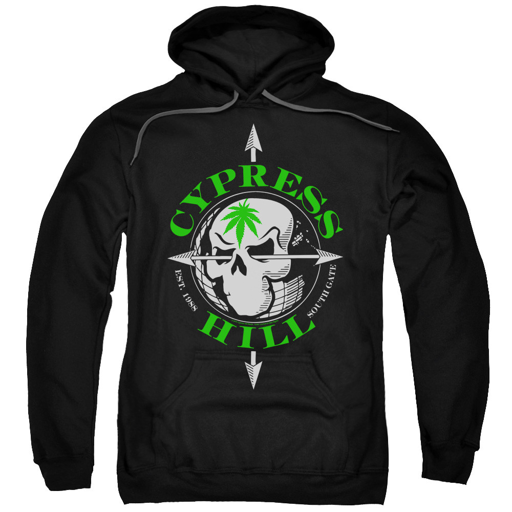 a4643a7a Cypress Hill Hoodie - Skull and Arrows - NerdKungFu