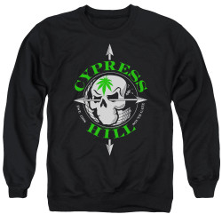 Image for Cypress Hill Crewneck - Skull and Arrows