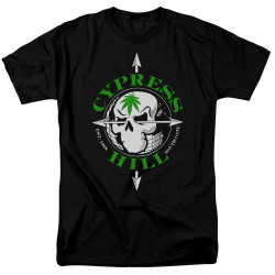 Image for Cypress Hill T-Shirt - Skull and Arrows