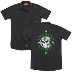 Image for Cypress Hill Dickies Work Shirt - Skull and Arrows