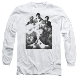 Image for Cypress Hill Long Sleeve Shirt - Monochrome Smoke