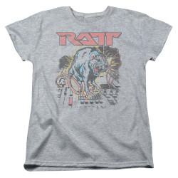 Image for Ratt Womans T-Shirt - Shocked