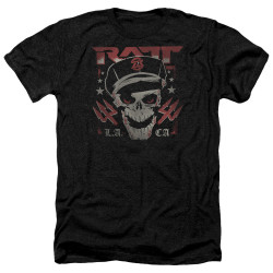Image for Ratt Heather T-Shirt - Skull and Tridents