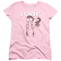 Image for Ratt Womans T-Shirt - Undercover Pink