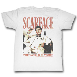 Image for Scarface T-Shirt - The World is Yours
