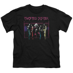 Image for Twisted Sister Youth T-Shirt - Neon Gate
