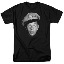 Image for Andy Griffith Show T-Shirt - Barney Head