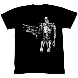 Image for Terminator T-Shirt - Here Comes Trouble